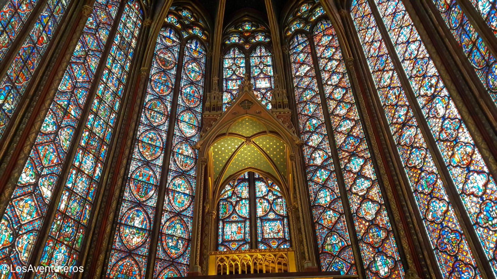 Sainte Chapelle - Parigi