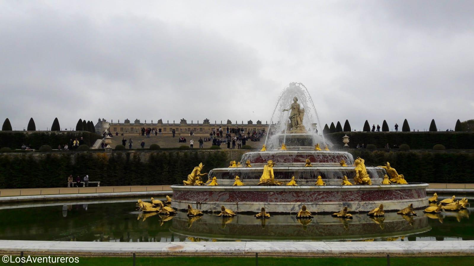 Fontana di Latona - Reggia di Versailles