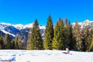 La neve a Sauris