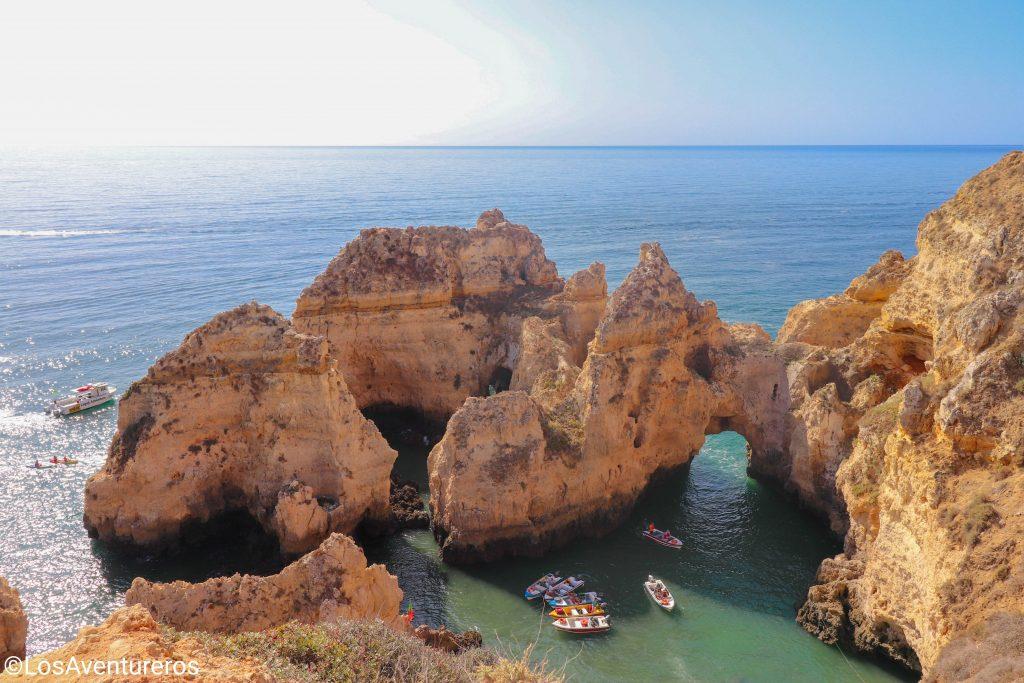 Punto panoramico Ponta da Piedade - Algarve