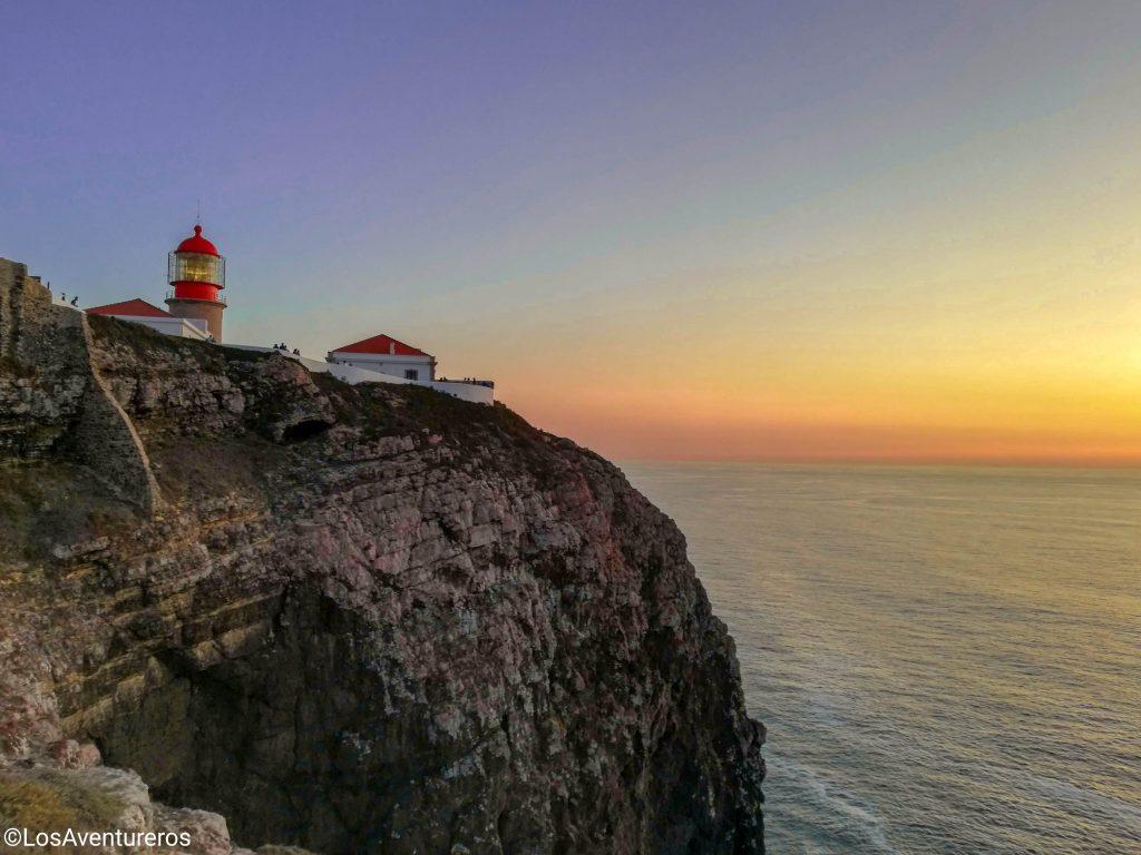 Punto panoramico di Cabo de Sao Vicente - Algarve