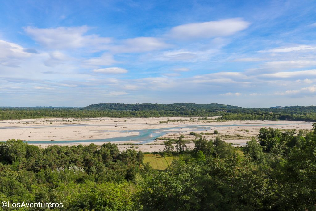 Punto Panoramico sul fiume Tagliamento