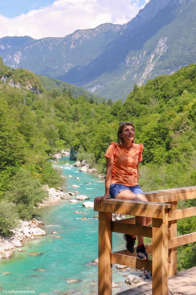 Belvedere sul fiume Isonzo